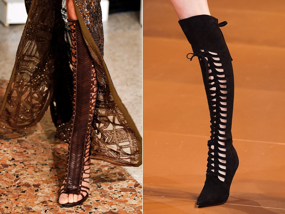Модный обувь осень-зима
