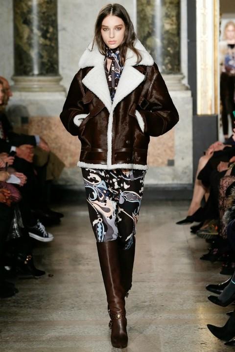 Модные дубленки зима 2014-2015