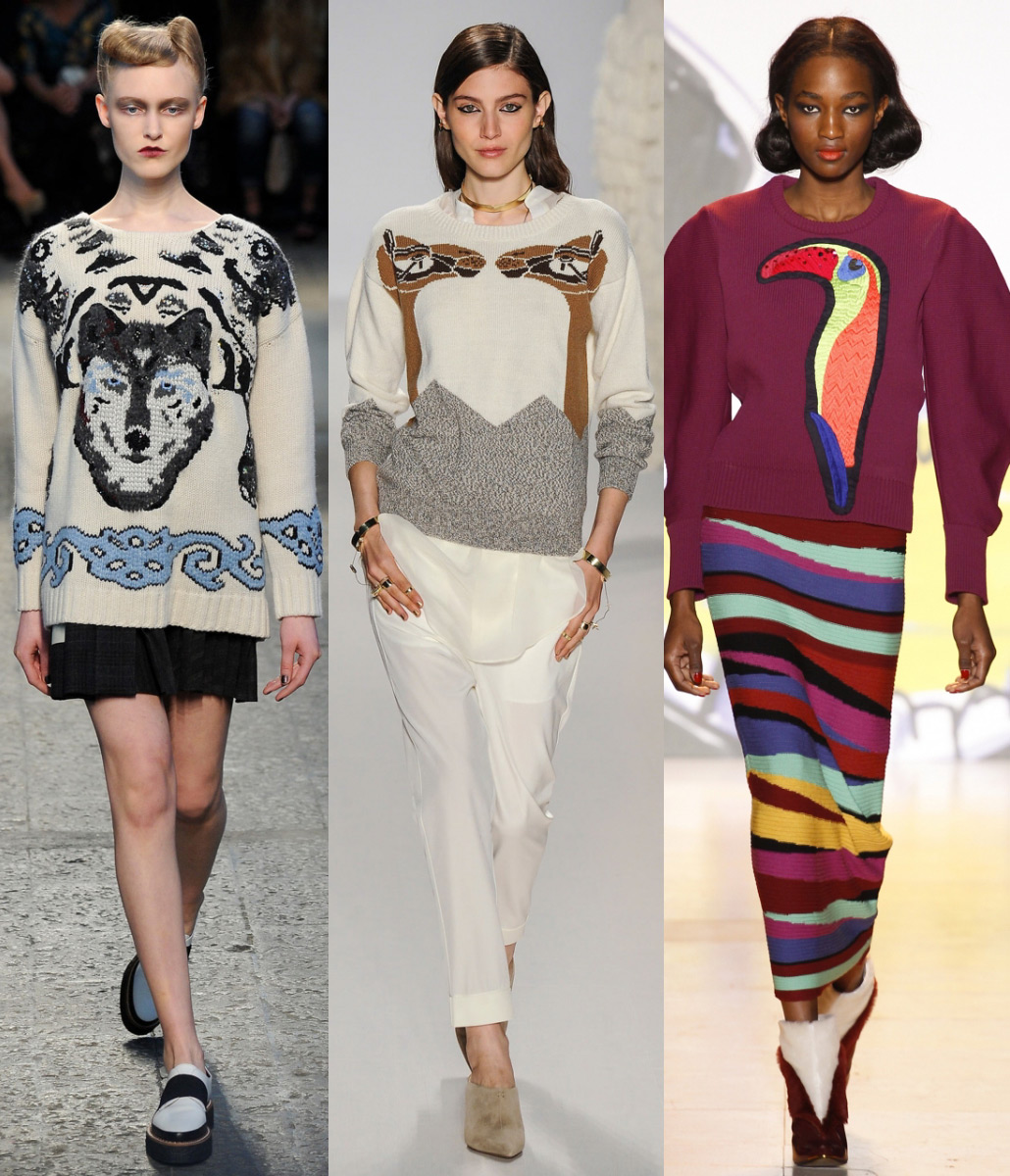 Модные кофты женские 2015