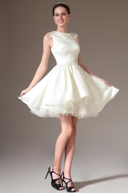 Платье белое зима 2014-2015