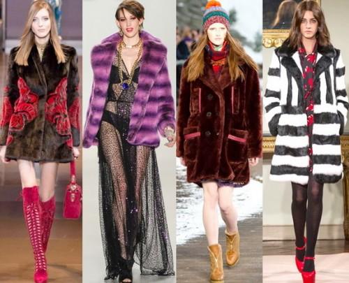 Модные женские шубы зима 2014-2015