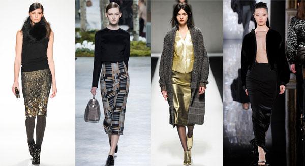 Модные юбки осень-зима 2014-2015 | Интернет - Журнал МоднаЯ