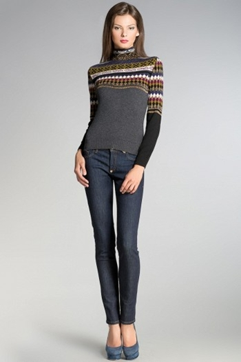 Модный свитер женский 2015 доставка