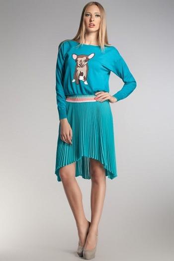 Модный женский джемпер
