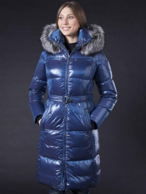 Модные женские пуховики зима 2015