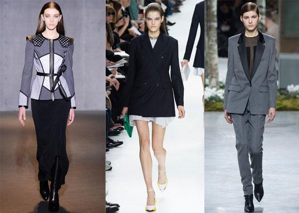 Модные жакеты зима 2014-2015