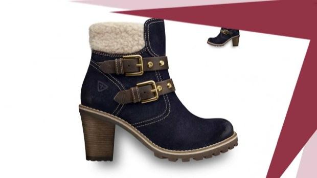 Модные женские ботинки зима 2014-2015