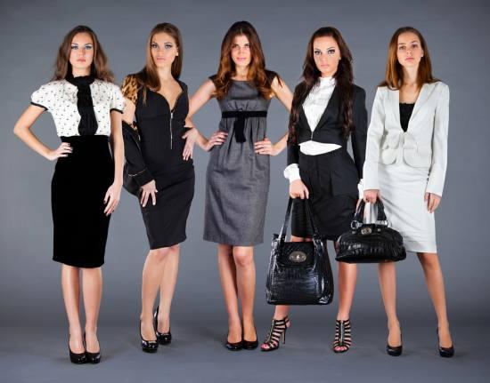 Женский деловой стиль зимой