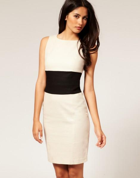 Красивое платье-футляр