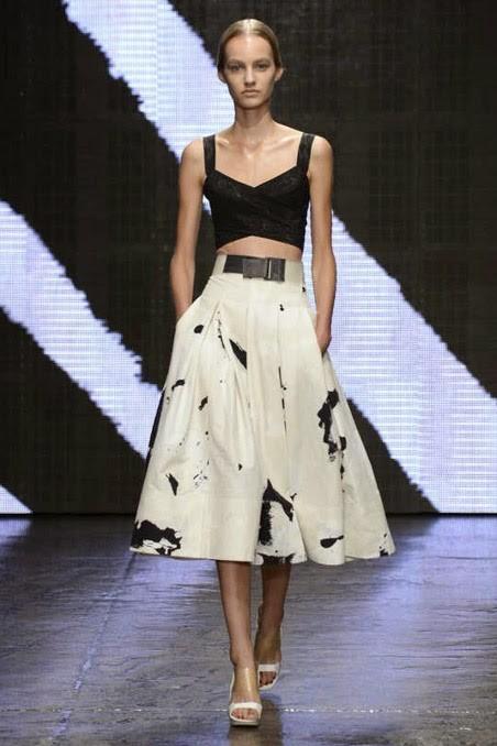 Коллекция одежды Donna Karan весна-лето 2015