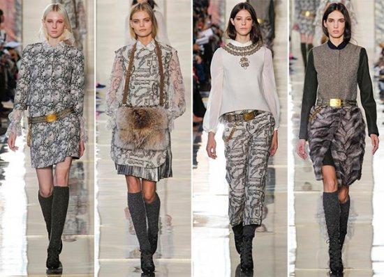 Модный женский ремень зима 2014-2015