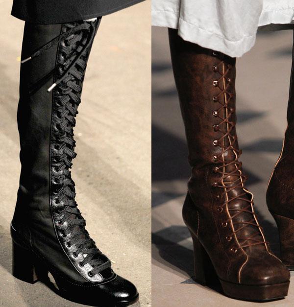 Модные сапоги зима 2014-2015