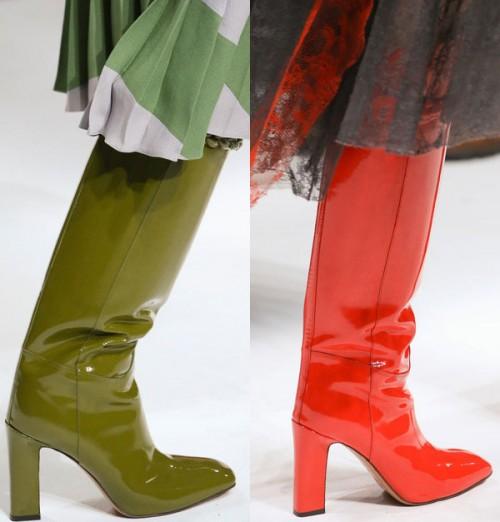 Сапоги на осень модные тенденции