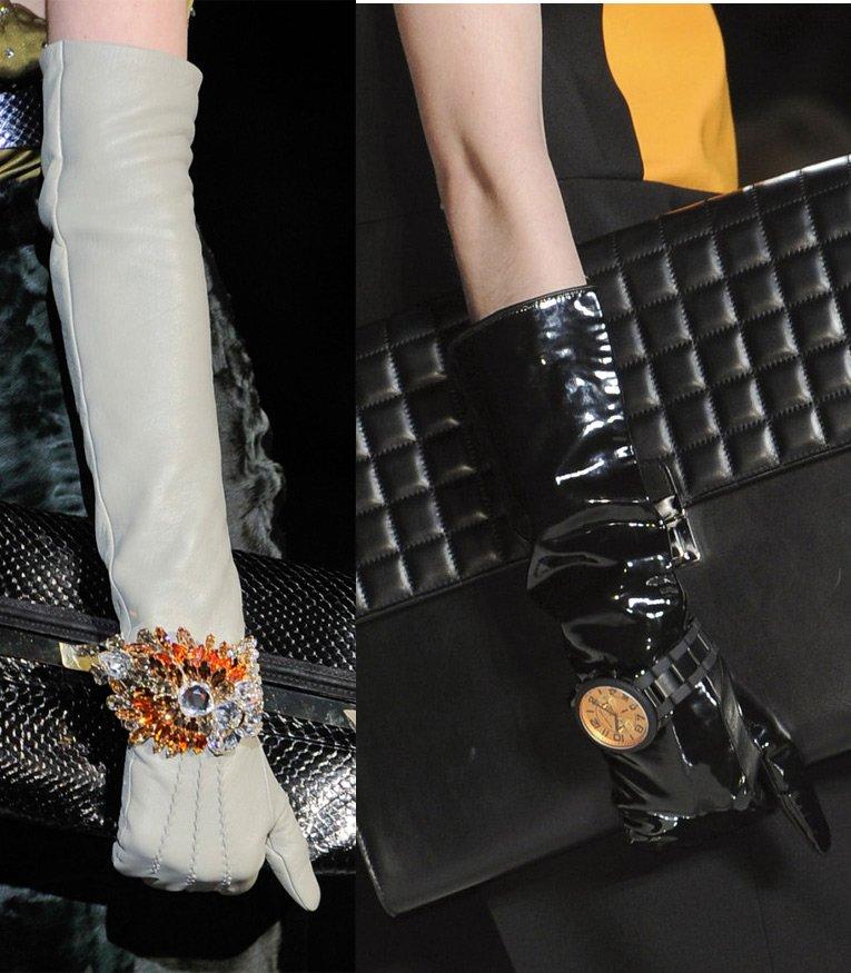модные женские перчатки зима 2014-2015