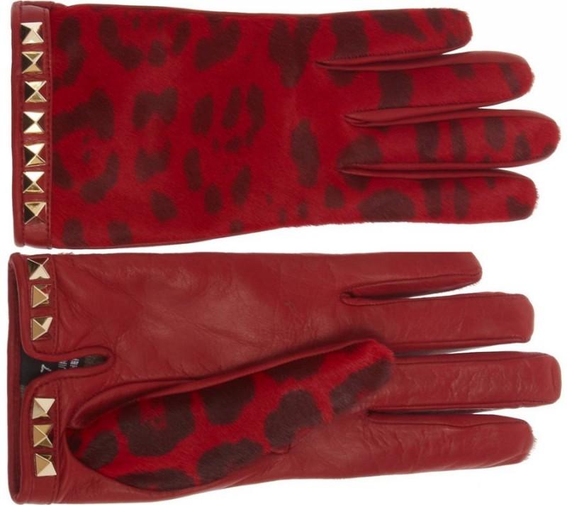 Женские перчатки зима 2014-2015