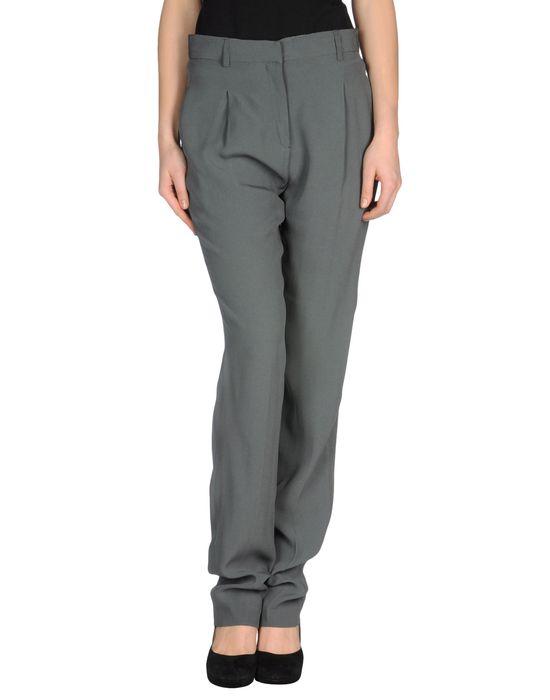 Женские брюки серого цвета