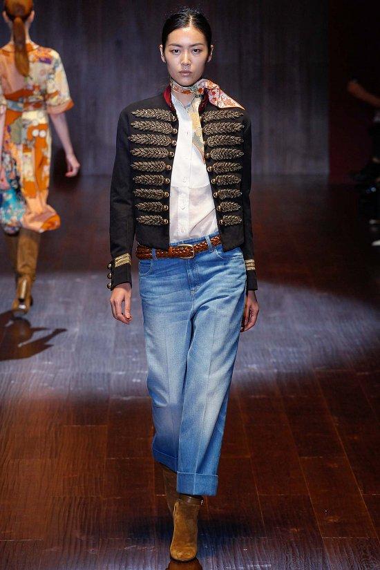 Синие штаны и пиджак