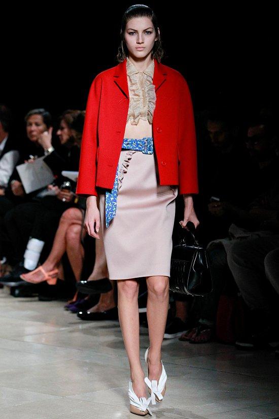 Коллекция одежды Miu-Miu весна-лето 2015