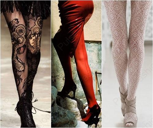 Модные женские колготки