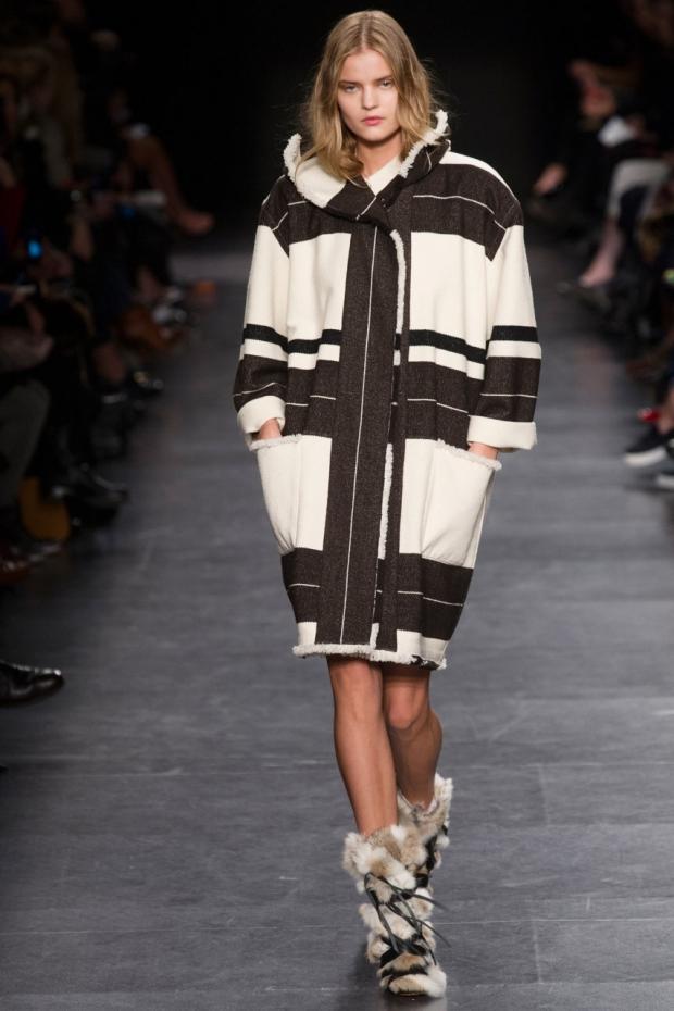 Модное женское пальто 2015