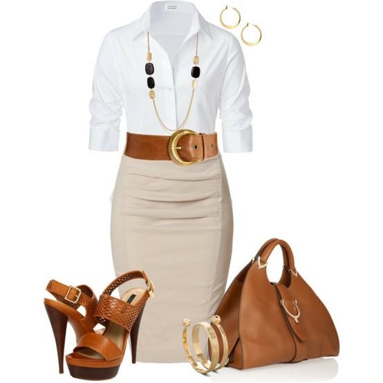Женская блуза деловой стиль