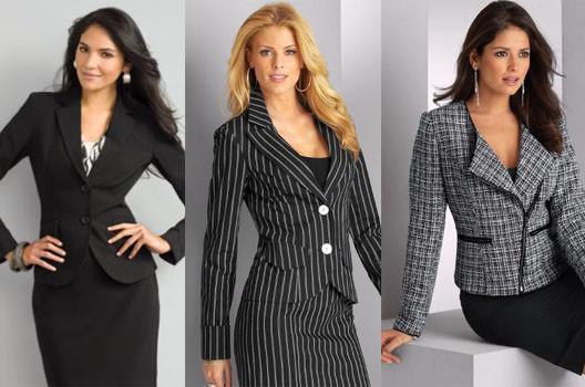 Женский деловой гардероб