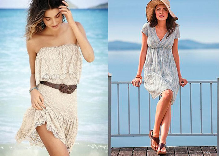 Летние пляжные платья 2015 года: фото