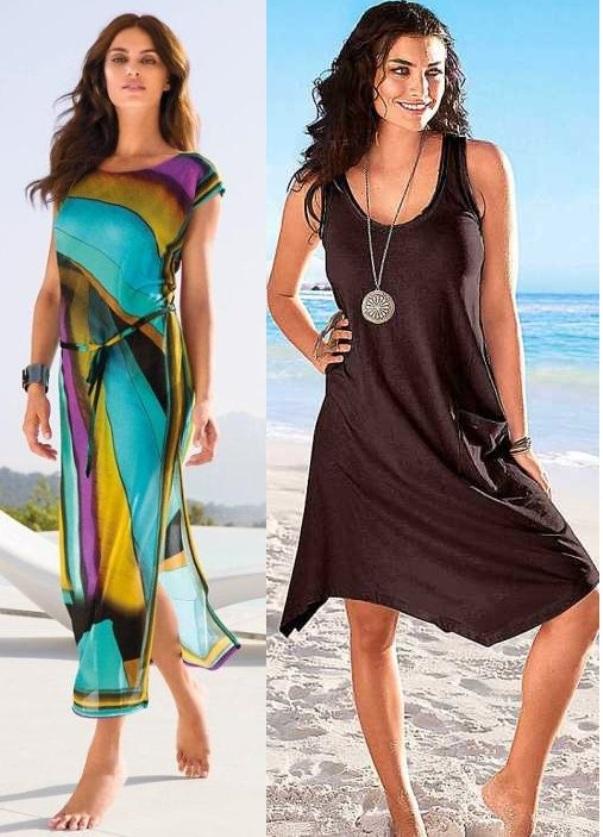Пляжные платья лето 2015