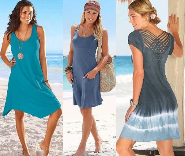 Пляжные платья 2015