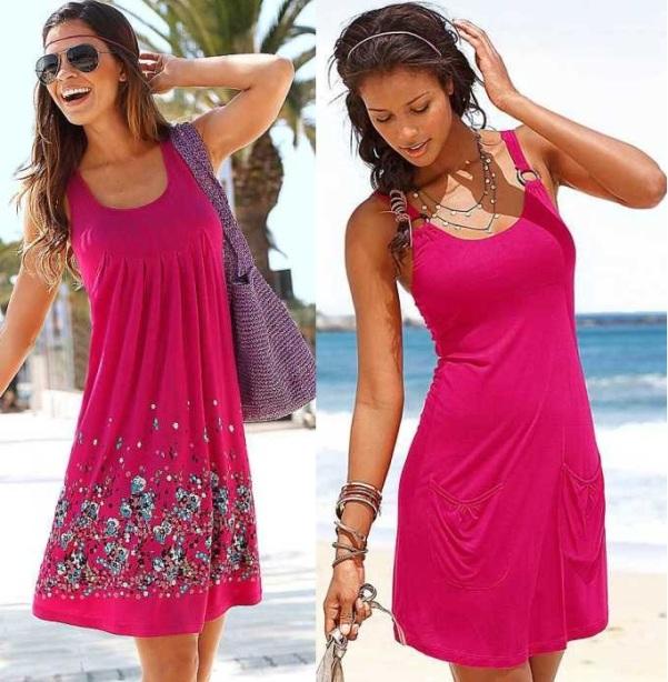 Пляжные платья весна-лето 2015