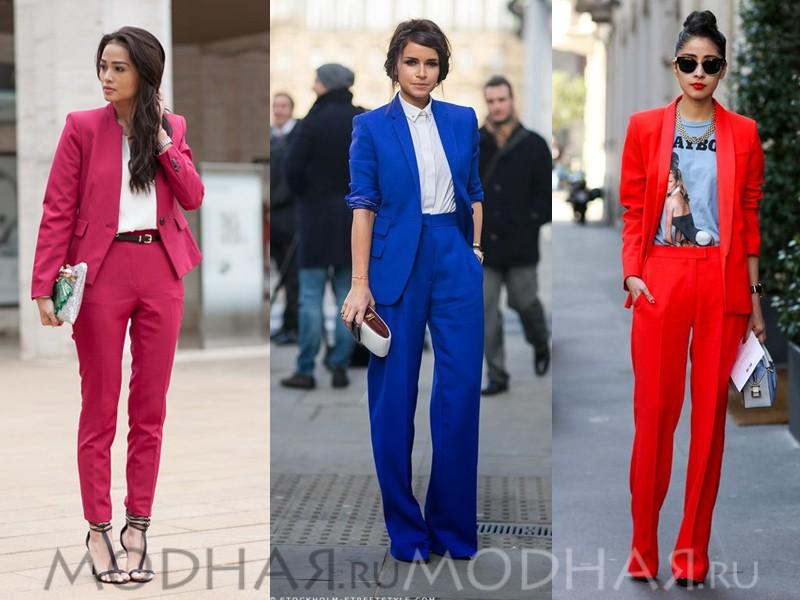Женские нарядные костюмы
