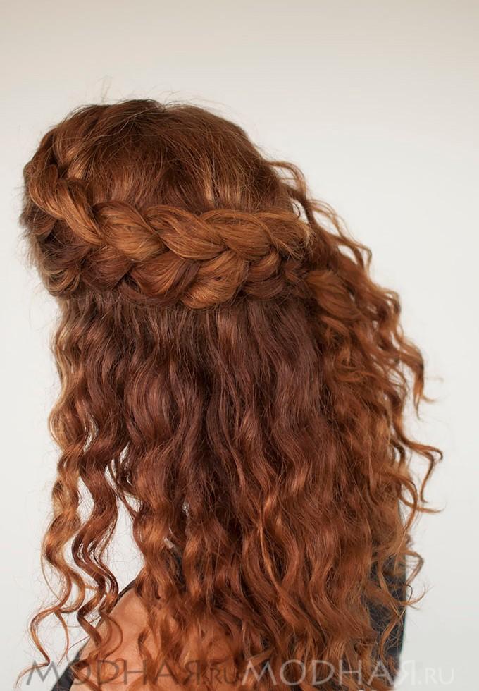 Как можно заплести волосы в школу самой себе - a33