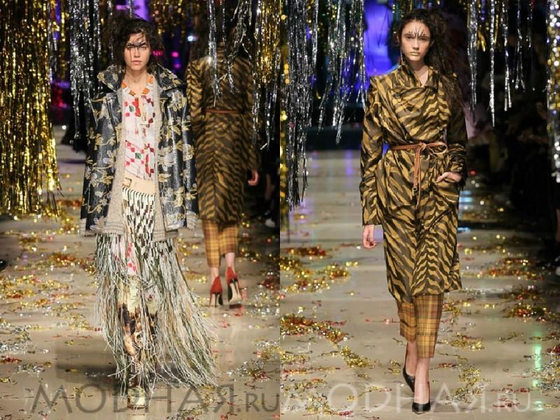 Модная одежда осень
