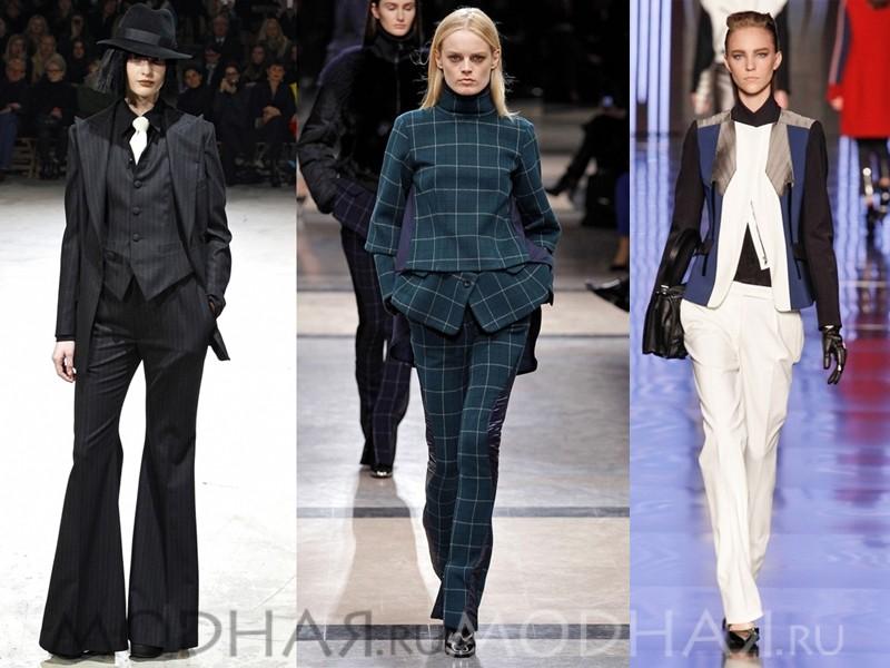 Строгие женские костюмы 2015