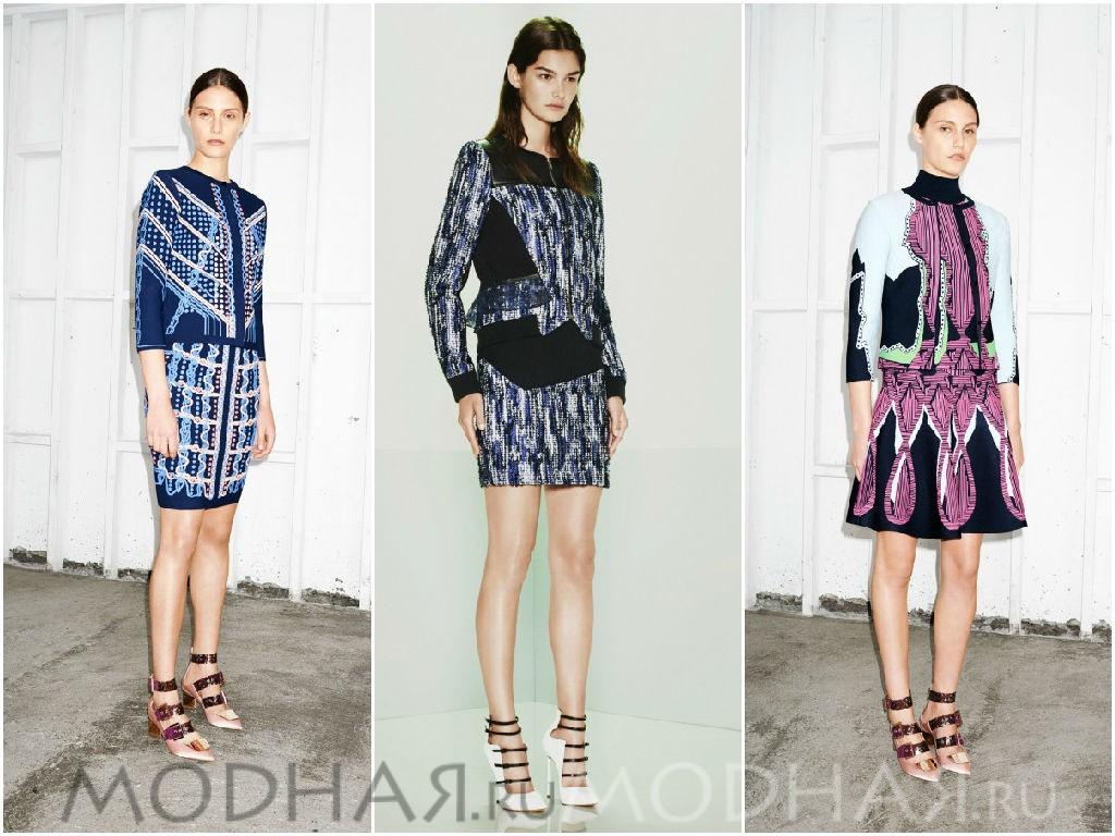 Деловой стиль в моделях деловых платьев 2015