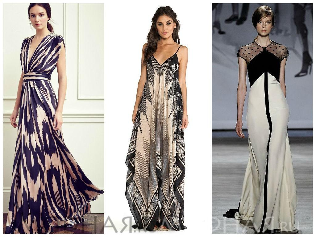 Летние платья для стильных женщин