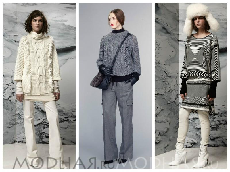 зимняя мода фото