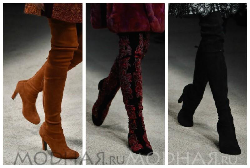 какая обувь модная зимой