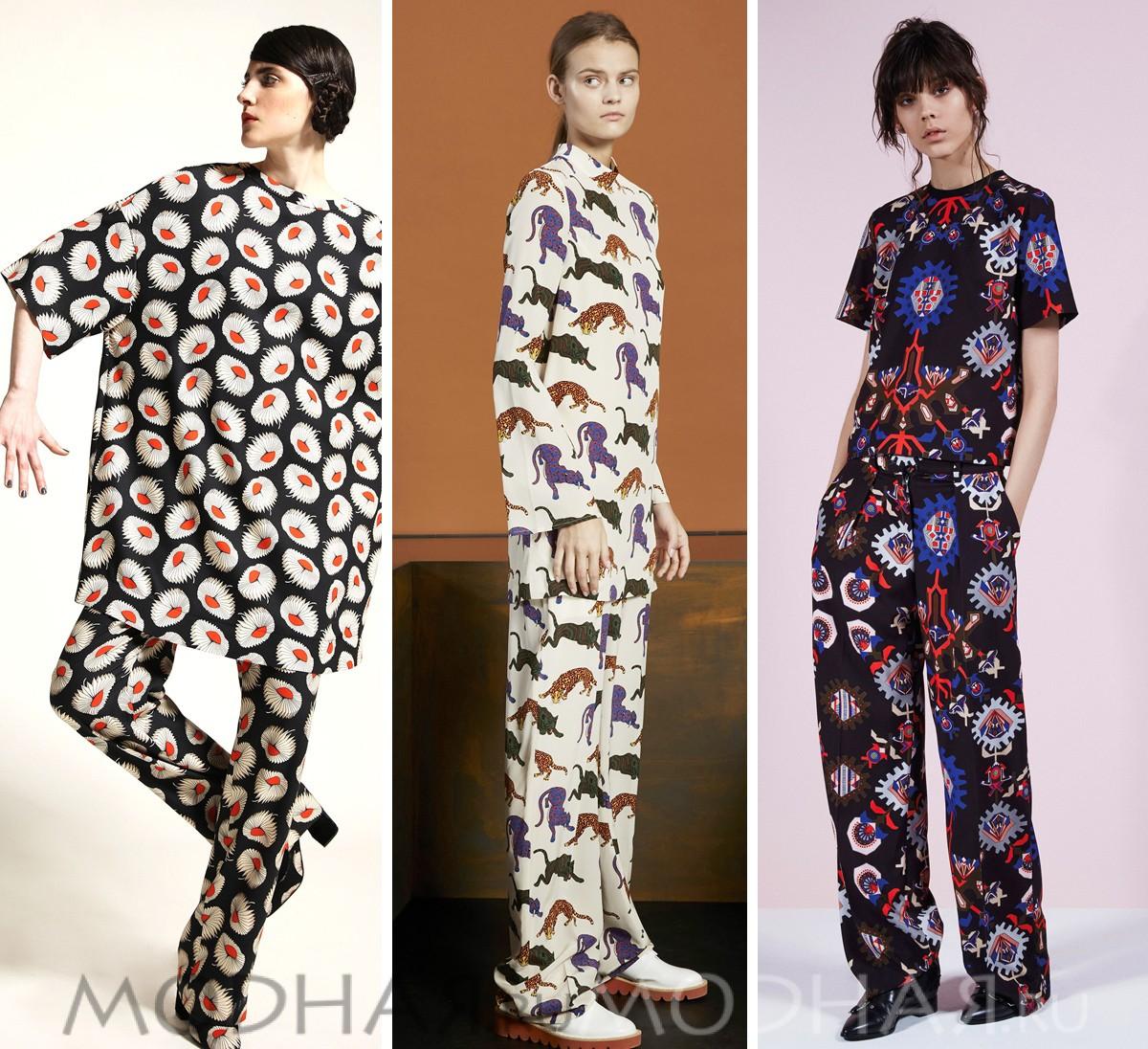 Мода одежда зима осень 2015