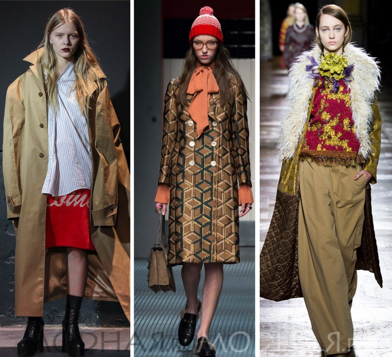 модная одежда осень зима