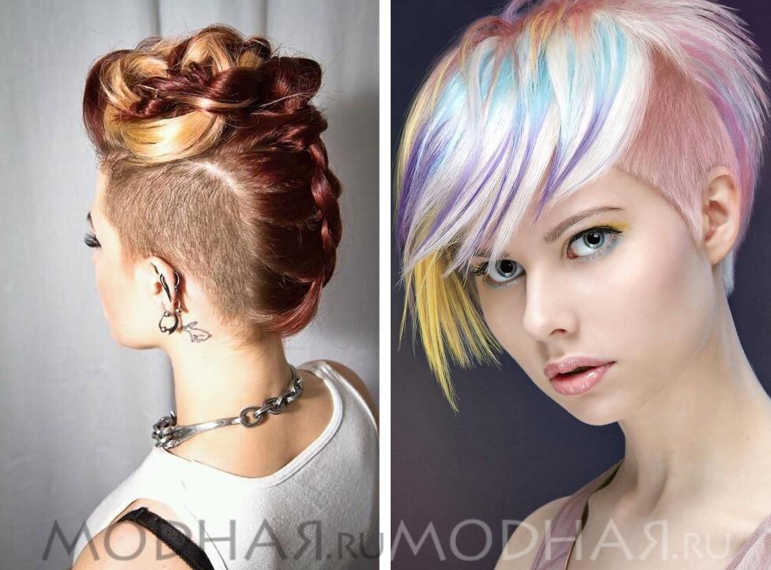 Модные причёски девушек
