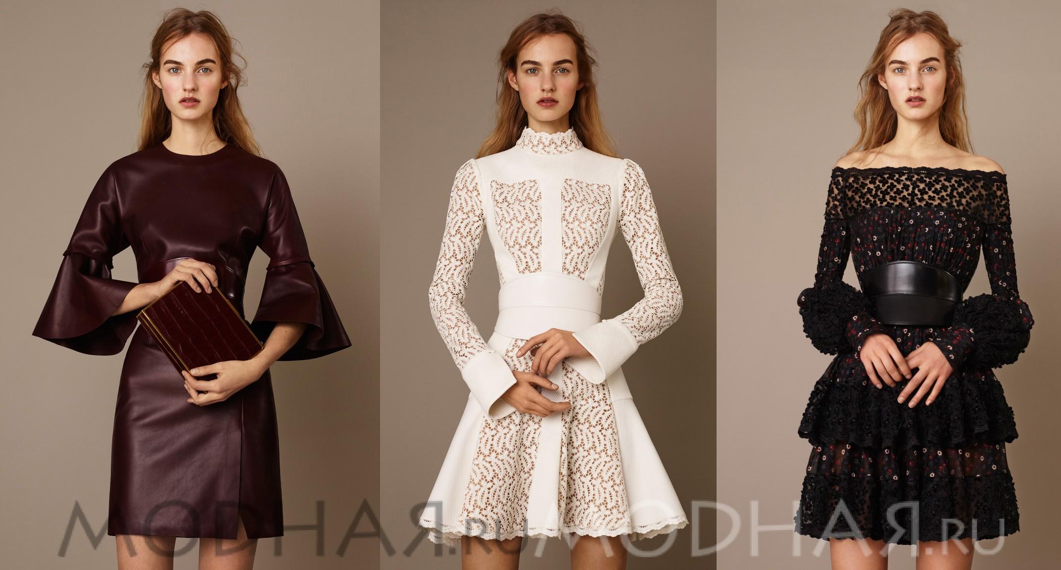 одежда 2016 года модные тенденции фото