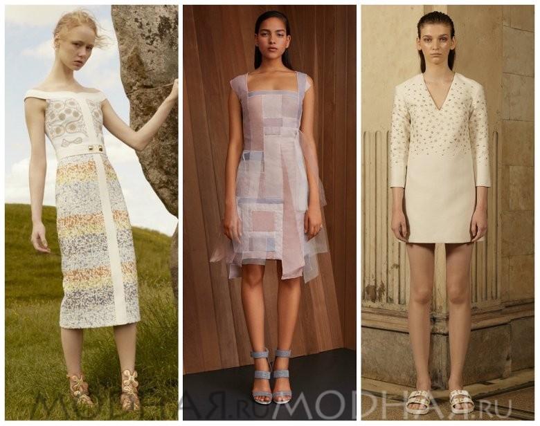 Новые модные тенденции платьев