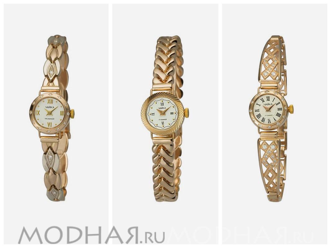 Чайка - легендарные золотые женские часы СССР