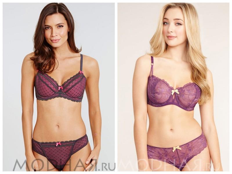 Комплекты женского белья в интернет магазинах