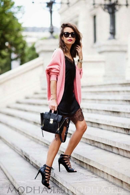 Очень красивое женское белье шелковая комбинацияф