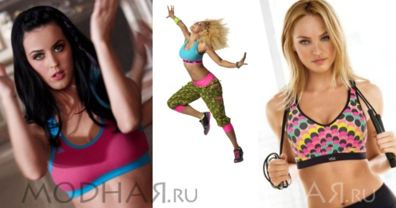 красивое женское белье для фитнеса