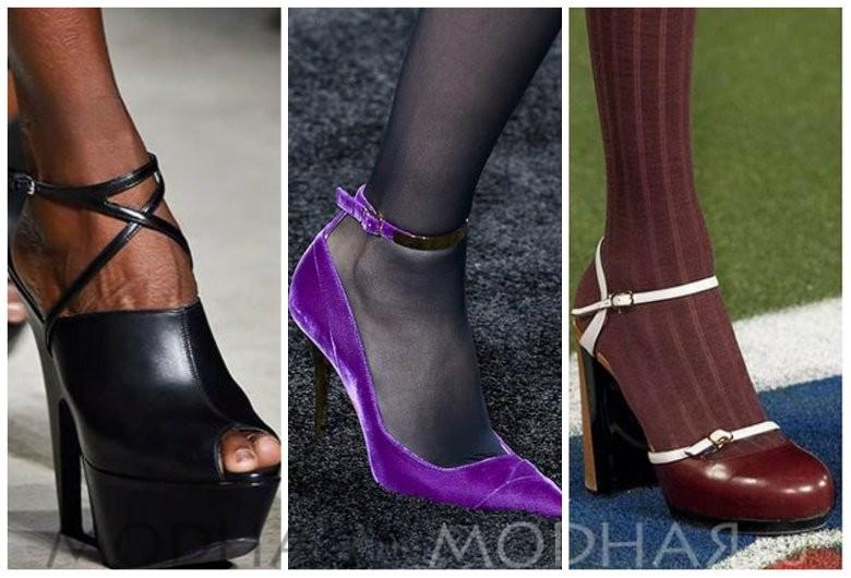 Модная обувь 2016 весна для женщин фото с ремешком