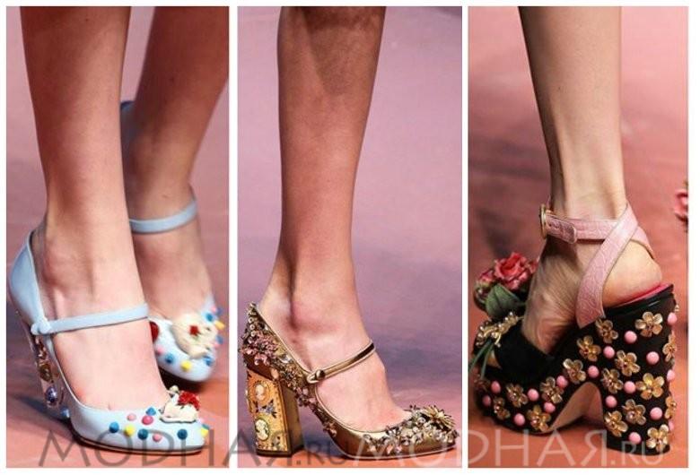 Модная обувь 2016 весна для женщин фото с украшениями