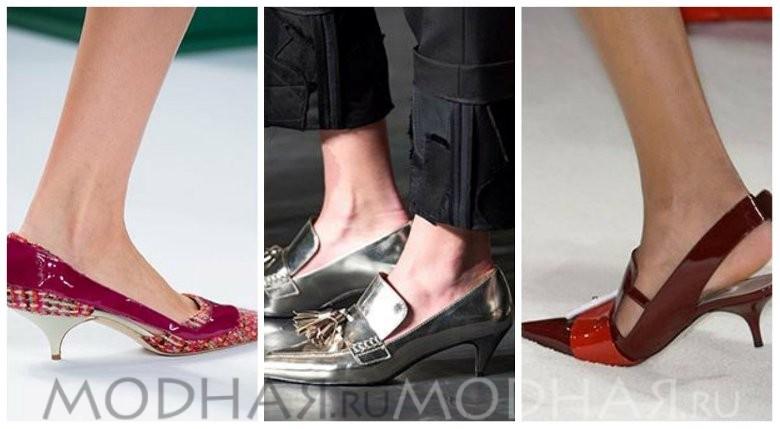 Модная обувь 2016 весна для женщин фото низкий каблук